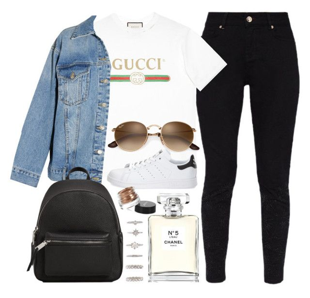 Love this by helealb on Polyvore featuring polyvore, fashion, style, Gucci, Steve J & Yoni P, Ted Baker, adidas, MANGO, Forever 21, Chanel, Inglot and clothing
