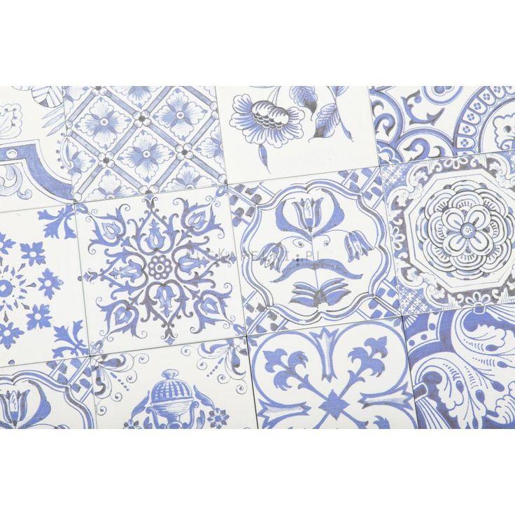 Fabresa Oporto Blanco Decor 15x15 - AleKafelki.pl