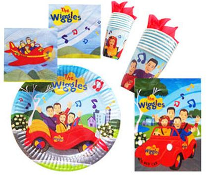 Wiggles Party Supplies Online Australia. The Wiggles birthday cake toppers $13.00.The Wiggles NEW characters cupcake icing images sheet 15 $9.95