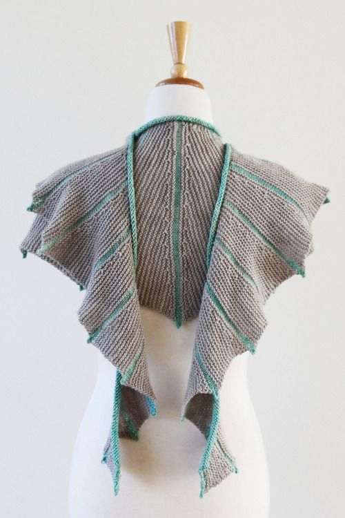 DIY $6 Pattern for the Sea Dragon Shawl by AMBAH on Ravelry.One...