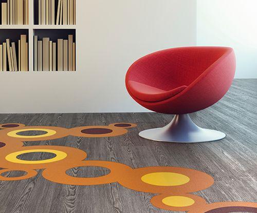 Expona Flow PUR Vinyl Flooring Product Range by Polyflor