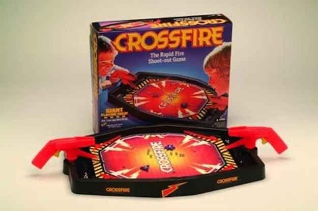 Crossfire   15 Vintage Board Games That Will Make '90s Kids Nostalgic