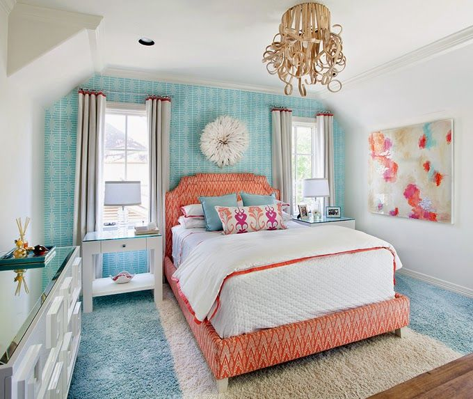 Turquoise Red Bedroom Decorating Ideas: Best 25+ Turquoise Teen Bedroom Ideas On Pinterest