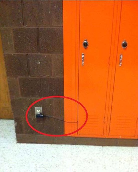One of my best friends was lucky like this. Mofo had a coffee pot in his freaking locker
