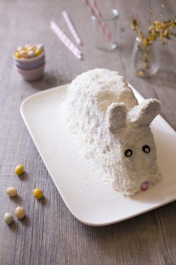 Photo de la recette: Gâteau Lapin de Pâques carrot cake