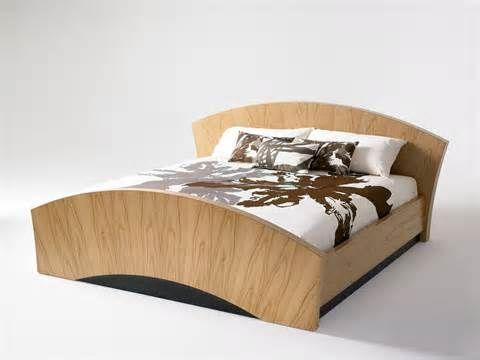Scandinavian Bed www.manydesign.net