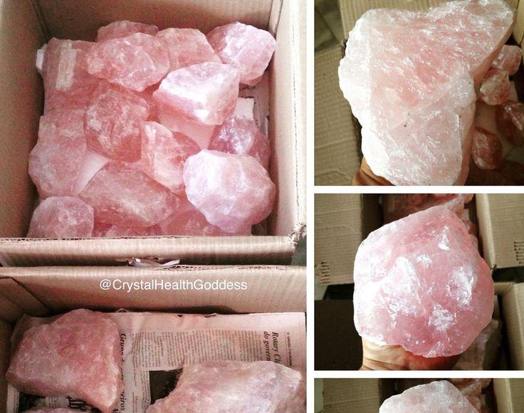 Rough Rose Quartz Crystal Specimen *Gemy Quality*
