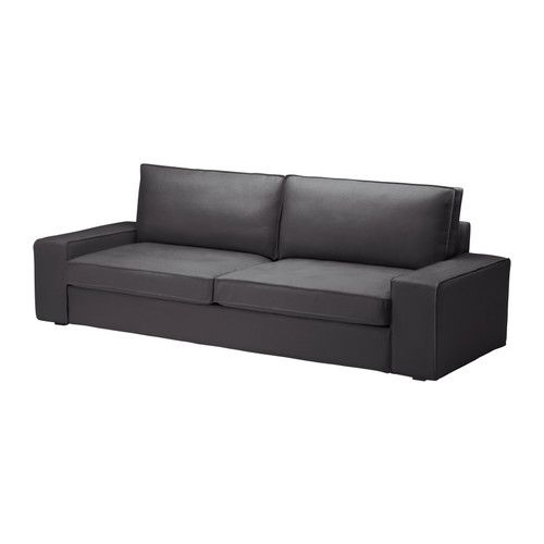 KIVIK  Sofa bed, Dansbo dark gray