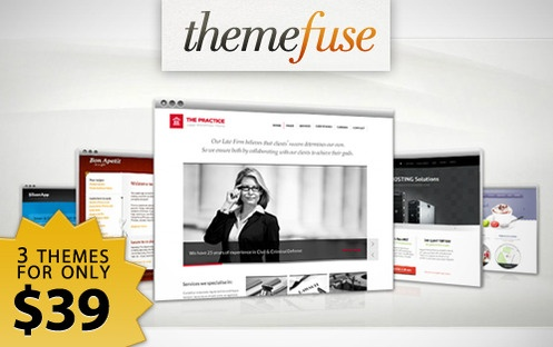 Get Choose Any Three WordPress Themes for Only $39 - The ThemeFuse WordPress Trio  (73% off)