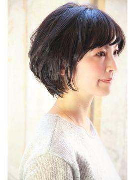 ダミアバイルル DAMIA by LuLu☆40代からのヘアスタイル~黒髪でも若々しく見える横顔~