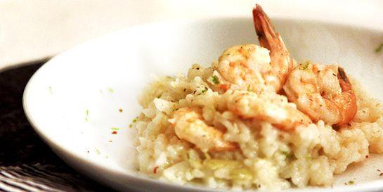 Risoto de camarão e alcachofra feito no forno – Donna Hay   DigaMaria.com