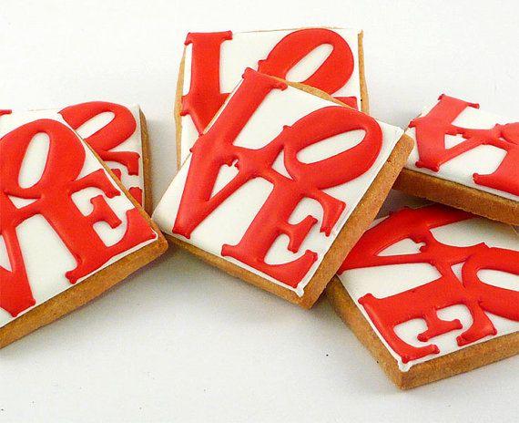 Decorated Cookies - Valentine's Day - Philadelphia Love