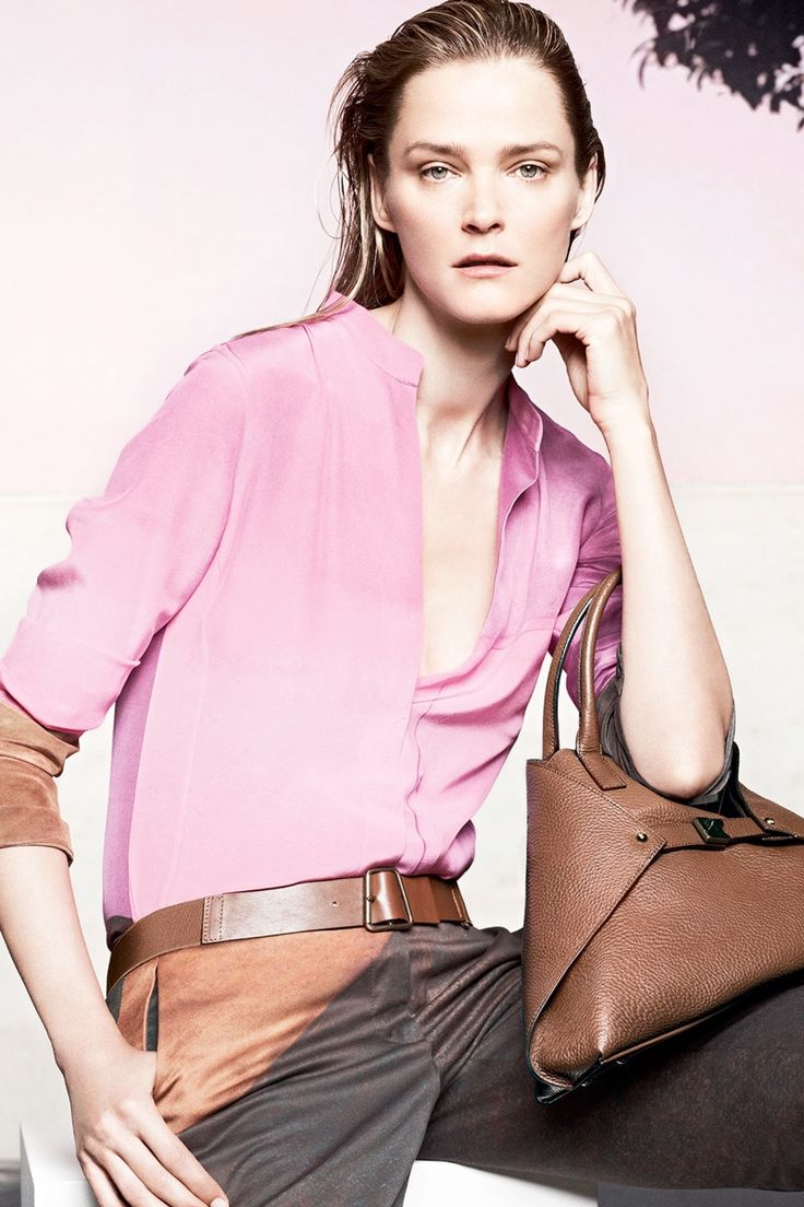 Carmen Kass Fronts Akris Cruise 2014 Campaign