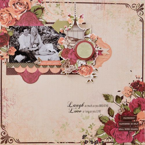 Kaisercraft - Lady Rose - Joanne Bain