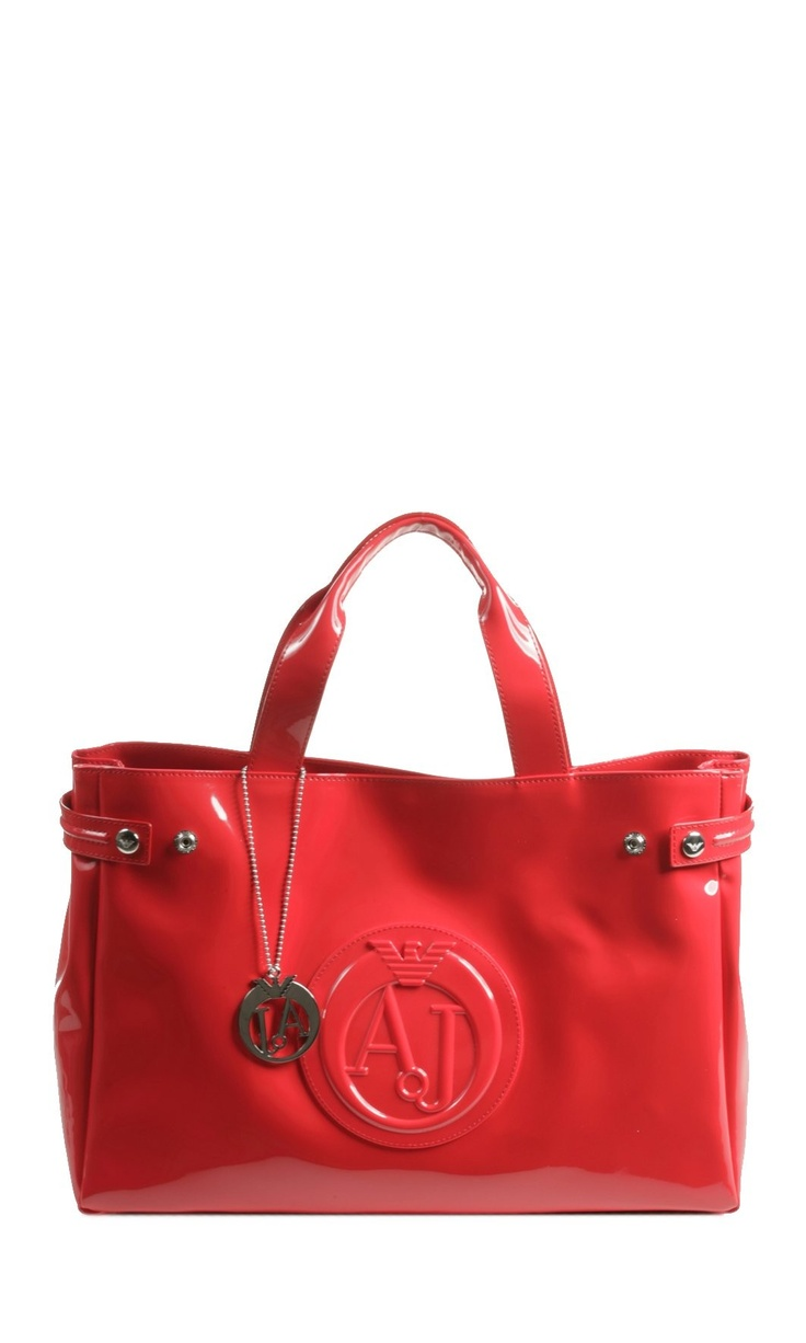 Armani Jeans Red Leather Clutch Bag Accent Clothing Perfect 6f943e83f0e1a