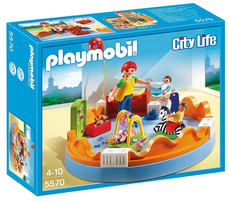 Amazon.com: PLAYMOBIL Playgroup Play Set: Toys U0026 Games