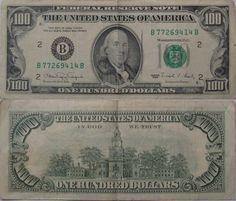 100 dollar bill | 100 Dollar Bill Series 1990 – #b…