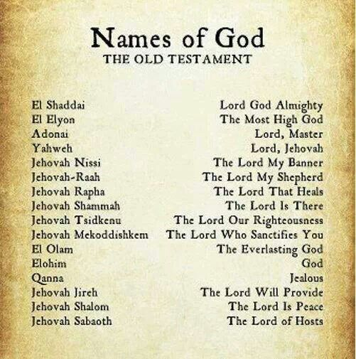 17 Beste Afbeeldingen Over Names Of God Op Pinterest