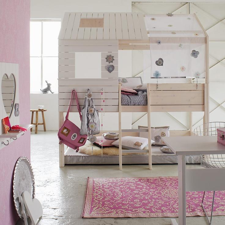 ber ideen zu m dchen spielhaus auf pinterest. Black Bedroom Furniture Sets. Home Design Ideas