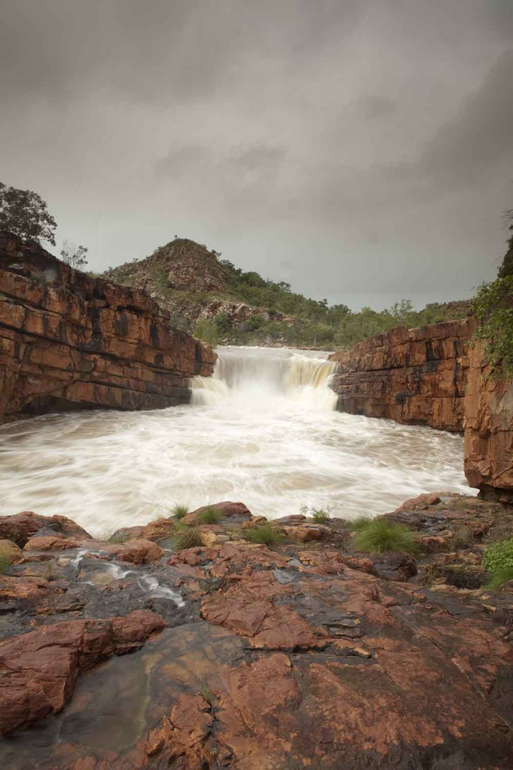 The incredible fury of Kimberley waterfalls in the wet