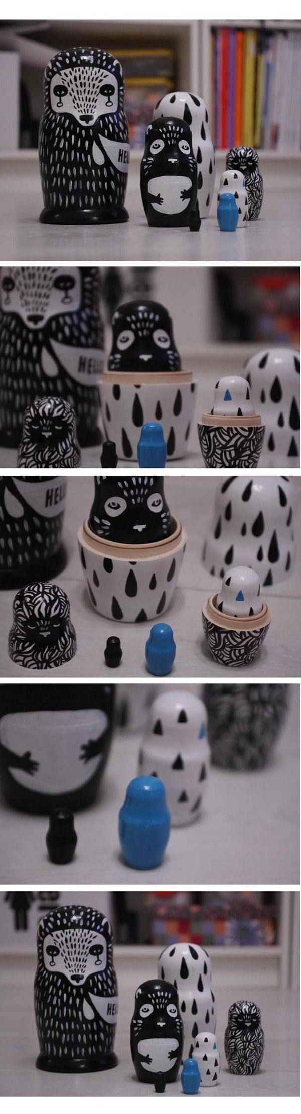 http://www.behance.net/gallery/Matryoshka-dolls/2645207