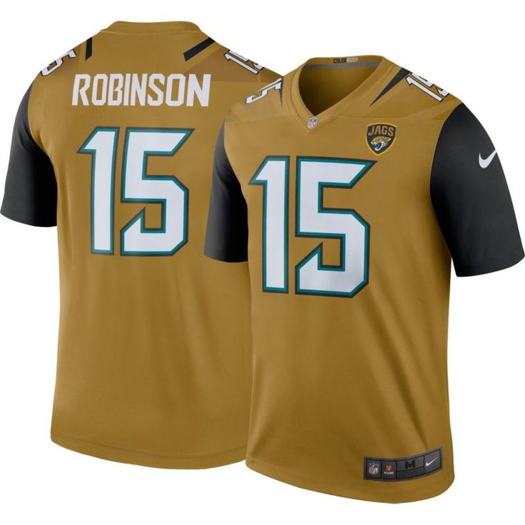 Nike Men's Color Rush 2017 Legend Jersey Jacksonville Allen Robinson #15, Size: Medium, Team