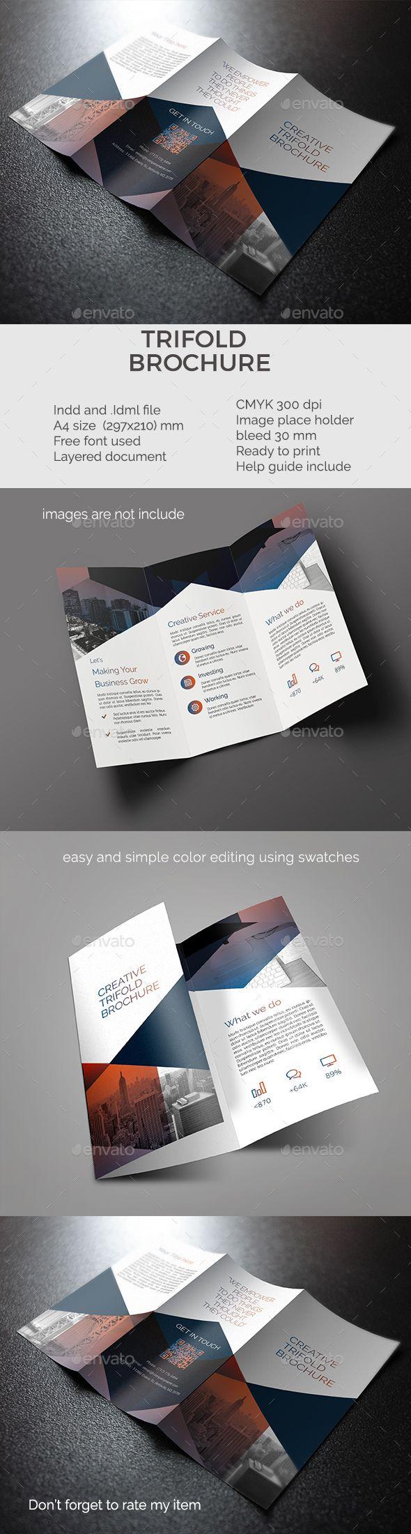 best 85 bi fold brochure images on pinterest brochure template
