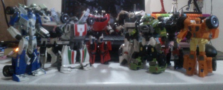 Autobots, robot mode