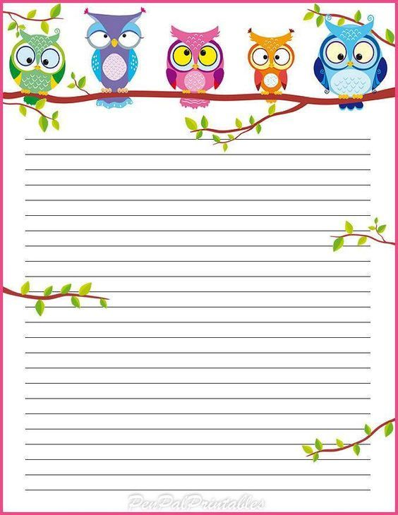 191 best PAPER SHEETS images on Pinterest Writing paper, Free - blank lined paper template