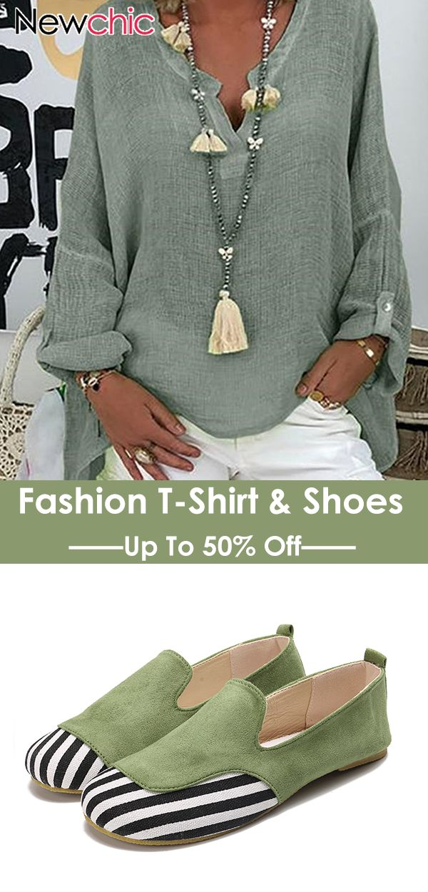 #Back To School# Style Women Fashion Shirt & Shoes