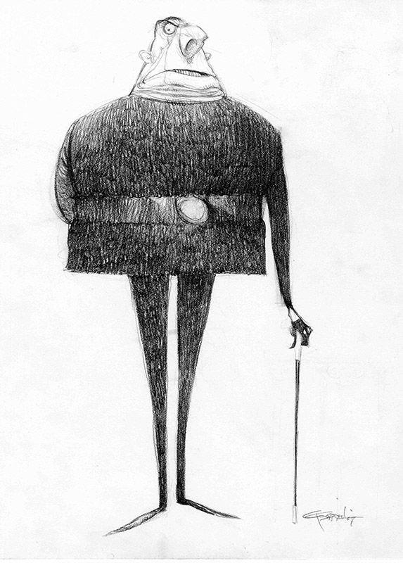 Despicable Me: Character Design: Carter Goodrich