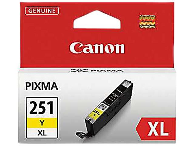 Canon CLI-251Y XL Ink tank High Yield; Yellow (6451B001) 20,99$ new egg