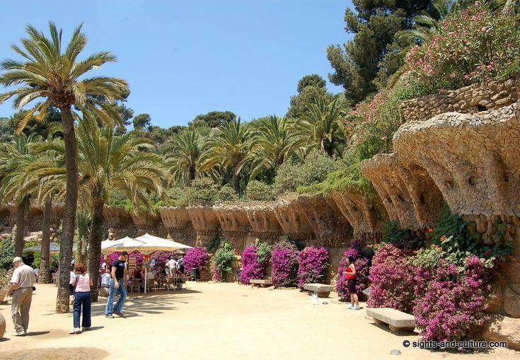in Gaudi Wonderland – Park Güell, Barcelona  Kingdom of Spain  Pinterest  ...