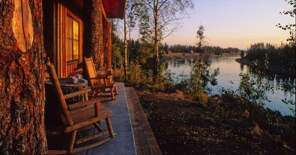 Henry's Fork Lodge. Island Park, Idaho.