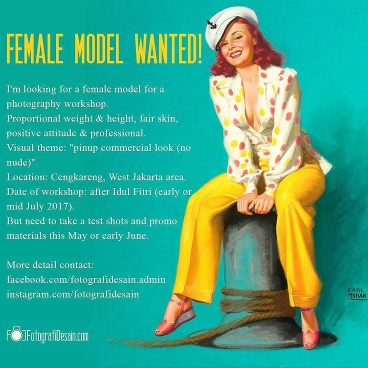 We are looking for a female model for our next workshop. If you are a happy cheerful dynamic outgoing person with a positive & professional attitude please DM me for details.  Kindly share this info to your friends pls thank you :) #modelindonesia #modelindo #modeljakarta #model_indonesia #modelwanted #indonesianmodel #jakartamodel