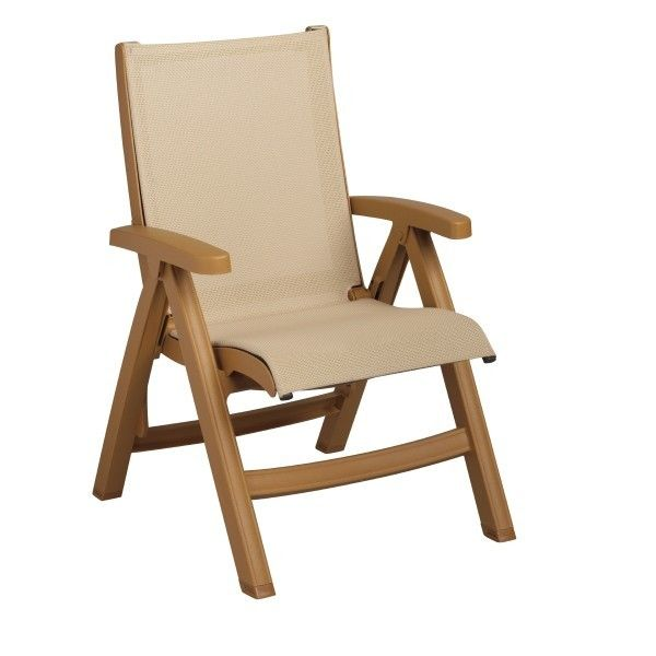 Our Belize midback folding sling chair is specifically designed to provide comfort and ease of utilization and storage in hospitality environments. Folds flat for easy storage. Easy to clean by simply powerwashing. A locking device secures the seat of the chair into position for safe use. Order online today at http://contractfurniture.com/product_detail.php?prodID=2551 or call us 800.507.1785