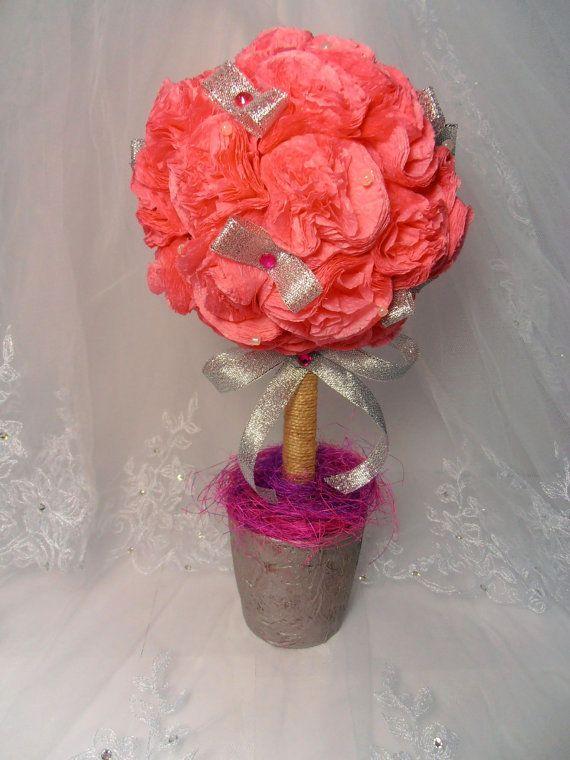 Топиарий Розовый рай от SvetlanaD13 на Etsy, $30.00
