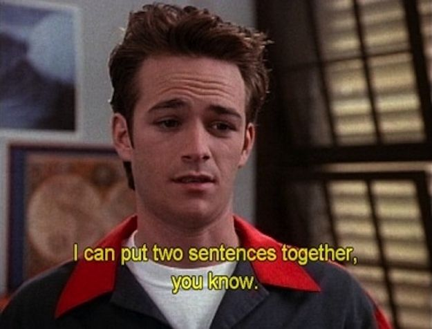 He's smart… | 15 Reasons Why Dylan McKay Is The Perfect Boyfriend