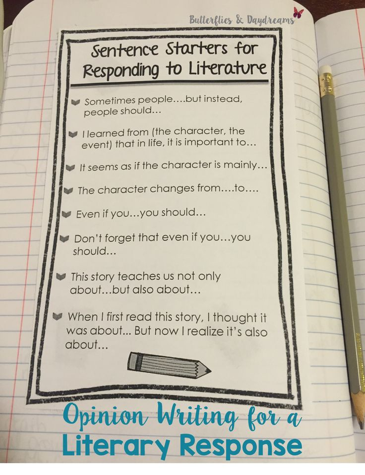 response to lit In most english courses you will be required to read literature -- and then you will have to write about it in order to successfully write an essay in response to a text, you must have a.