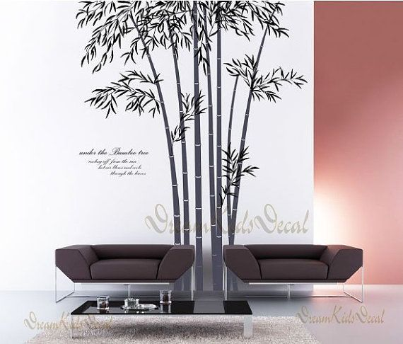 Vinyl Wall Decal Sticker Art Bamboo Forest Tree By DreamKidsDecal Part 80
