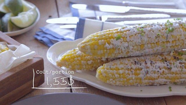 Épis de maïs grillés à la lime | Cuisine futée, parents pressés