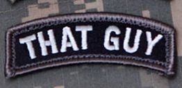 The morale patch that says it all...