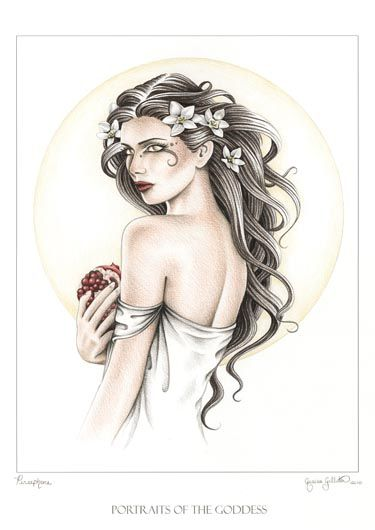 Persephone The Goddess I Invoke the most often. I am more drawn to her than any other God or Goddess