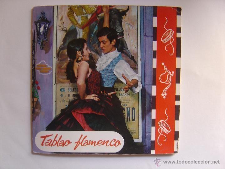 TABLAO FLAMENCO*RUMBA FLAMENCA + 3*EP 45 REGAL 1965*