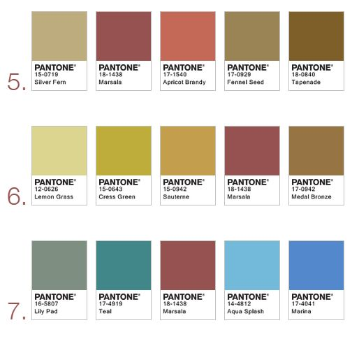 bhg color palette of the year 2016 bing images