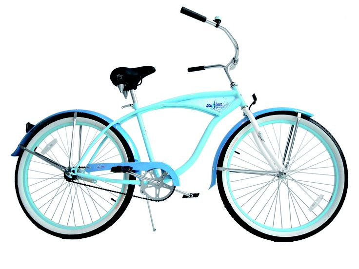 Ride Like Us - Beach Cruiser - Brand: Aquarius