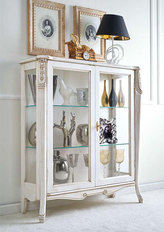 italian white furniture. display cabinet italian white furniture