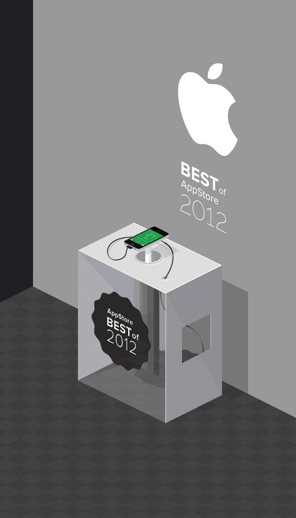 App on the stand... by Artem Svitelskyi, via Behance