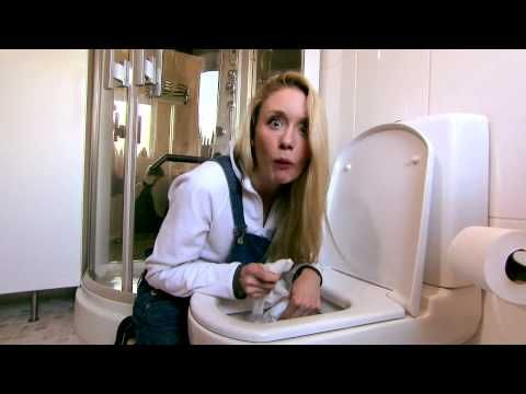 Can't flush this! A great video to show kids who want to flush EVERYTHING.