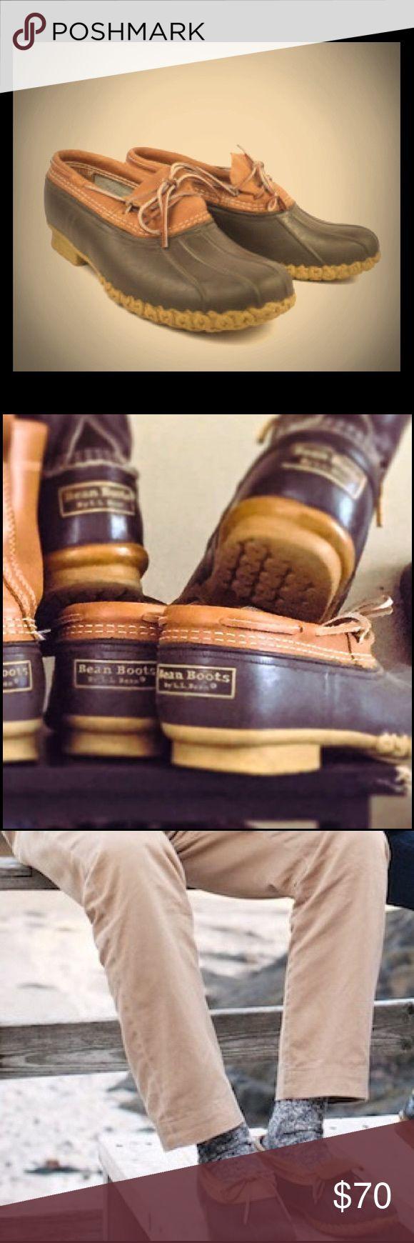 L.L. Bean Leather Rubber Bean Boots Men's Sz 9 L.L. Bean Leather Rubber Bean Boots Men's Sz 9        These are used but in great condition! L.L. Bean Shoes Rain & Snow Boots